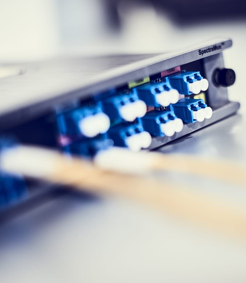 Itectra har designet en CWDM løsning, der har øget kapaciteten på Jammerbugt Kommunes sort fiber.